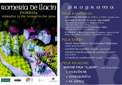 Cartel Llaciniegu 2014